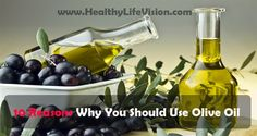 First, perhaps the most important reason is that the olive oil is a completely natural product. Extra virgin olive oil is actually pure juice obtained by mechanical pressing of olives, without chem...