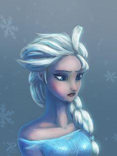 Elsa by Raikoh-illust on deviantART