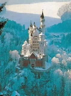 Magical, Neuschwanstein Castle, Bavaria, Germany