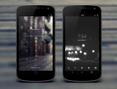 5 beautiful iPhone homescreen designs - Design Suck