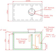 Diagram Of A Septic Tank System | Septic Tank Diagram Septic Systems In 2018 Pinterest Septic