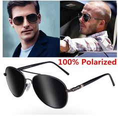 8124ac3ae5 2017 Classic Retro UV400 Round Metal Luxury Brand Sunglasses Men Polarized  Fashion Men s Mirror Driving Sun Glasses
