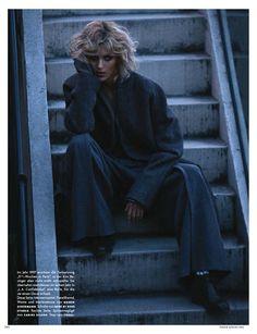 9 1/2 Weeks - Anja Rubik for Vogue Germany August 2014