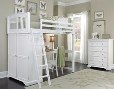 The NE Kids Walnut Street White Locker Loft Bedroom Set is the signature piece of the Walnut Street Collection. The innovative Loft design is fresh and completely unique to NE Kids. The NE Kids Walnut Street White Locker Loft Bedroom Set is specifica Room, Bedroom Sets, Home, Bedroom Design, Loft Bed, Kid Beds, Bed, Rosenberry Rooms, Kids Bedroom Sets