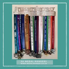 Runners be Crazy – Personalised Medal Hanger – SA Medal Hangers