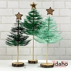 Inking Idaho Christmas Projects, Christmas Stuff, Diy Christmas, Christmas Decorations, Xmas, Christmas Ornaments, Holiday Decor, Concord And 9th, Rubber Stamping