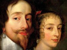 The marriage of King Charles I and Henrietta Marie of France took place on this day 13th June, 1625