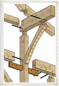 Custom designing and building sustainable timber frame homes and light commercial post and beam structures nationwide since We have a network of timberframe builders and over 5000 timber frame designs. Woodworking Joints, Woodworking Projects, Woodworking Guide, Unique Woodworking, Wood Joints, Into The Woods, Timber Frame Homes, Timber Frames, Post And Beam