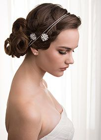 Sara by Sara Gabriel chanel set Swarovski crystal hair wrap with silk petals and pearls!  Alligator clips on each end secure the piece to your hair and are hidden underneath stunning silk flower petals and Swarovski crystals and pearls.  Can be worn as a headband or across your forehead.  One size. Wrapmeasures 46 inches long.  Proudly made by hand in the USA from raw materials so no two are exactly alike. Slight variations in each piece are not only to be expected they are what make ...