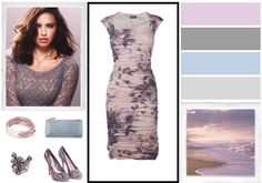 """Soft Summer Outfit #1"" by yourbestcolors ❤ liked on Polyvore"