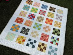 Creative Chicks: Baby Nine Patch - use  the 9 patch blocks from great grandma?