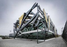 Açık Sahalar Spor Kompleksi / Bahadır Kul Architects