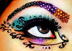 gem stones eyes