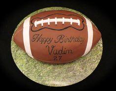 American Football Cake