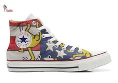 Make Your Shoes Converse Customized Adulte - chaussures coutume (produit artisanal) Back Groud Paisley size 36 EU s3ttwO