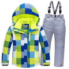 Cheap ski suit, Buy Quality skiing suit sets directly from China snowboard clothing Suppliers: Children Snow suit Coats Ski suit sets outdoor Gilr/Boy skiing snowboarding clothing waterproof thermal Winter jacket + pant Sport Outfits, Boy Outfits, Winter Outfits, Girls Ski Jacket, Snow Wear, Winter Suit, Baby Winter, Snowboarding Outfit, Boys Wear