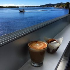 Morning coffee with a view!
