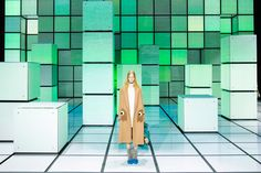 Anya Hindmarch fashion show by INCA Productions, London – UK » Retail Design Blog