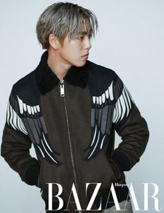 Young actor Lee Hyun Woo is a charismatic bad boy in his solo pictorial with 'Harper's Bazaar'. And