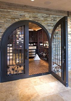 Wine Room Door