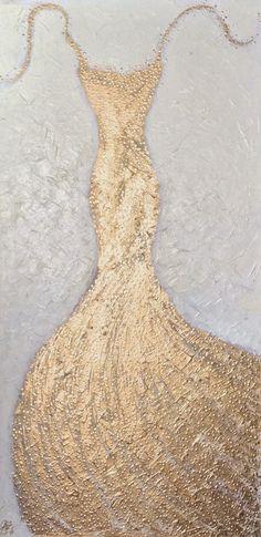 Golden Gown IV   Art. Passion. ZsaZsa Bellagio