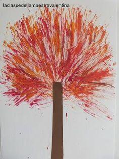 fait avec des aiguilles de pin assemblées en pinceau