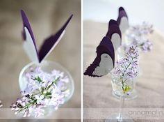 Diy: Mariposas para las copas