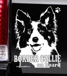 Samolepka na auto BORDER COLLIE – BORDER KOLIE. http://www.shopfido.cz/produkt/samolepka-na-auto-border-collie-border-kolie/