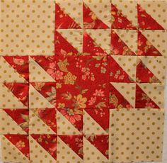 Winged Square Block: V Findlay Wolfe BLOG: Xmas project!