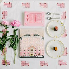DIY Mendl's tablecloth