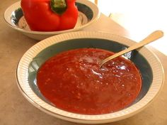 A spicy condiment used in Portuguese cooking. Use to spice up soups, rubbed onto a chicken before roasting, or add to liquid when cooking vegies. Chef Recipes, Great Recipes, Cooking Recipes, Favorite Recipes, Portuguese Recipes, Portuguese Food, Portuguese Culture, Red Pepper Sauce, Stuffed Hot Peppers