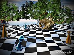 Chess Artwork | ... Art by Michael Burleigh - Chess Dreams Fine Art Prints and Posters for