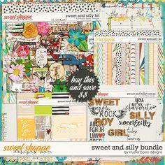 Sweet & Silly Bundle by Studio Basic