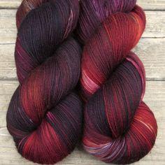Yowza yarn in Volcanic Eruption colorway by missbabs yarn… Crochet Yarn, Knitting Yarn, Knitting Patterns, Baby Knitting, Yarn Projects, Knitting Projects, Crochet Projects, Yarn Thread, Yarn Stash