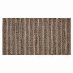 Laila Silver Rectangle Braided Rug 27x48""