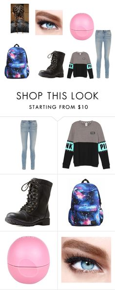 """School look"" by amazingliv on Polyvore featuring Alexander Wang, Charlotte Russe, River Island, Maybelline, women's clothing, women's fashion, women, female, woman and misses"