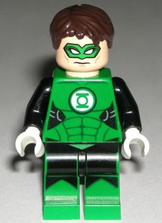 LEGO GREEN LANTERN MINIFIGURE SUPER HERO AUTHENTIC Figure Marvel DC 76025 #LEGO
