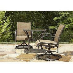 Kmart! 3 piece Bistro Set - perfect balcony furniture!
