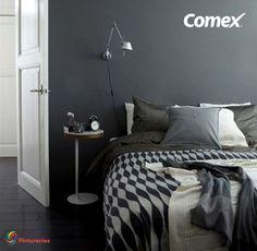 Crea un espacio elegante y sofisticado. #Decoración #Comex