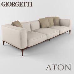Aton FFE in 2019 Sofa, Sofa styling, Sofa