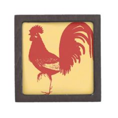 Red Rooster Premium Trinket Boxes #Rooster #TrinketBox