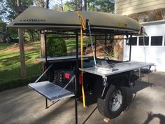 Total newb here at EP but here goes. I bought a Morris Mule trailer a couple of months ago. Camping Trailer Diy, Kayak Trailer, Off Road Trailer, Trailer Plans, Trailer Build, Off Road Camper, Diy Camping, Camping And Hiking, Camping Stuff