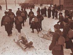 Хроника первых месяцев ВОВ в фотографиях (30 фото)