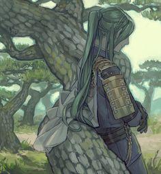 「にっかり青江と松」/「薫る石」のイラスト [pixiv]