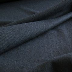 Navy Poly Wool | Guthrie & Ghani