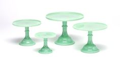 Jadeite Antique Cake Stands