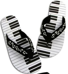 Keyboard Sole Flip-Flops (A5250)