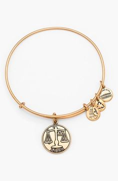 Alex and Ani 'Libra' Adjustable Wire Bangle available at #Nordstrom