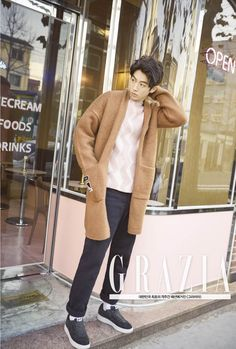 Nam Joo Hyuk for Grazia Korea Jan 2016