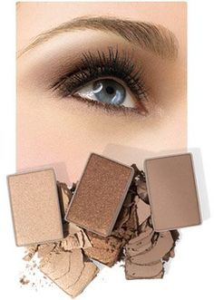 """Application Tips & Great colors for """"BLUE EYES"""". Mary Kay """"Mineral Eye Colors"""", make your eyes POP!   FREE SHIPPING (usa only)  www.marykay.com/khayes1"""